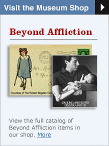 Visit the Museum Shop: View the full catalogue of Beyond Affliction item in our shop